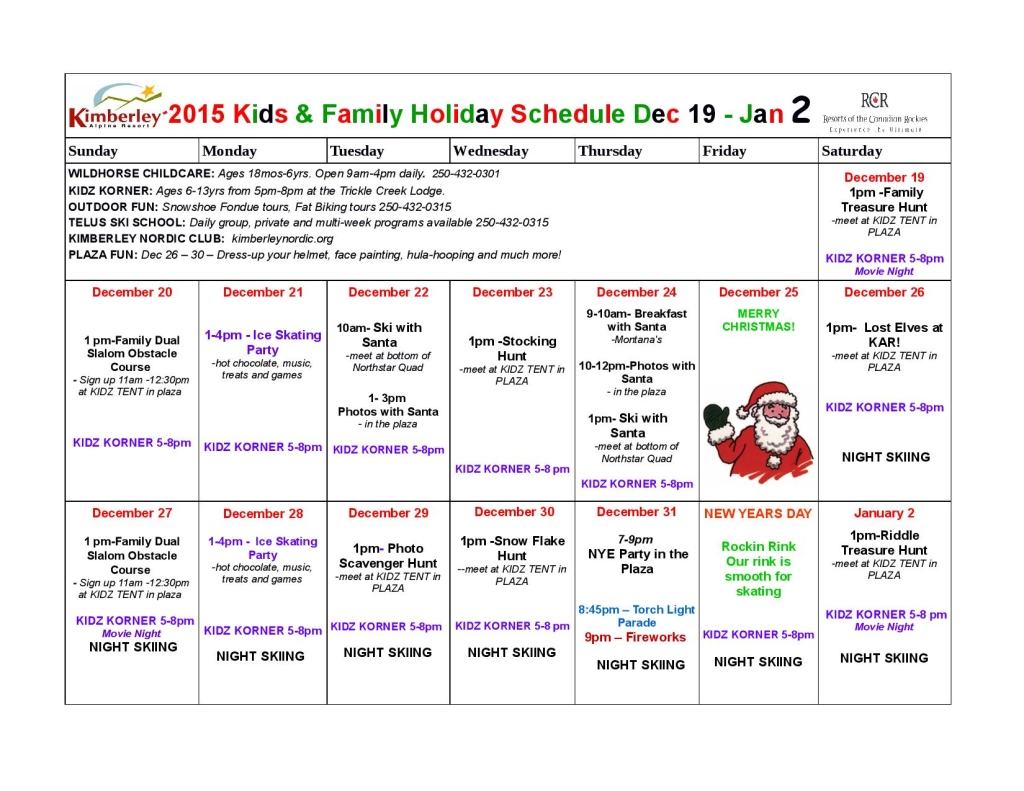 2015 Christmas Holiday Schedule Kids and Family-page-001