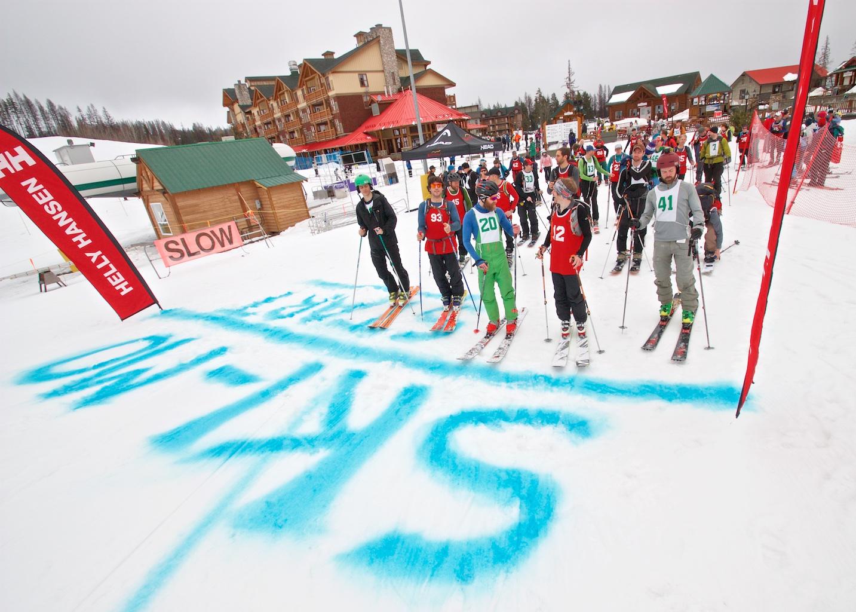 2017 Northstar SkiMo Race  Kimberley Alpine Resort  Kimberley