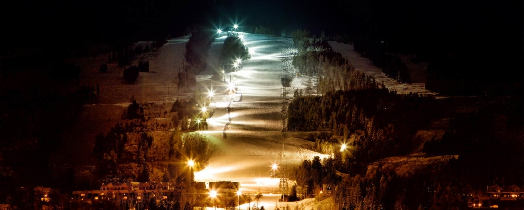 Night Skiing Kimberley Alpine Resort