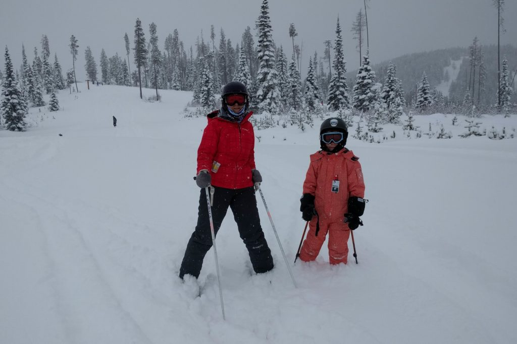 Powder weekend at Kimberley