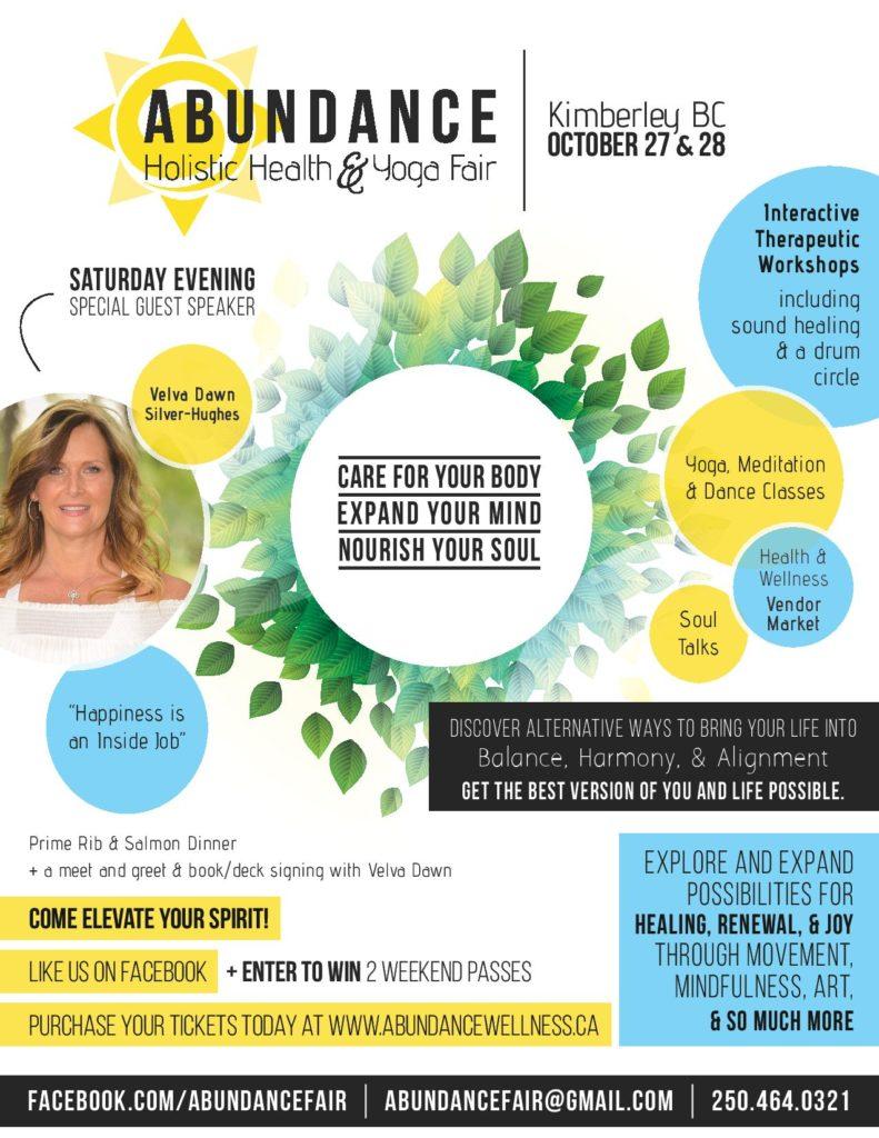 Abundance Holistic Health & Yoga Fair – Kimberley Alpine Resort